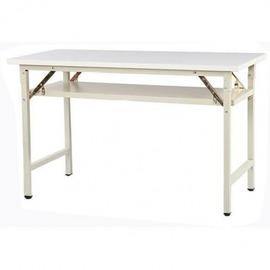直角折疊會議桌 摺疊桌 折合桌 折疊桌 120~45~74  尺寸