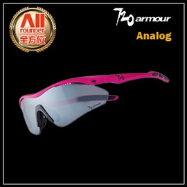 ~720Armour~~全方位 戶外館~720~Analog系列 太陽眼鏡 粉紅 白金灰^