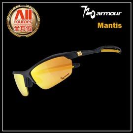 ~720Armour~~全方位 戶外館~720~Mantis系列 太陽眼鏡 霧黑 金^(B
