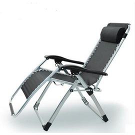 耐樸折疊椅子午休床躺椅沙灘椅午睡椅辦公室夏天涼靠椅逍遙椅陽臺~型男部落~