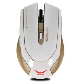 無線遊戲滑鼠可充電cflol電競筆記本電腦雙模無藍牙大號無限滑鼠~型男部落~
