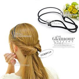 Kiret 韓國 浪漫 編髮神器 髮箍簡易式編髮器~盤髮器