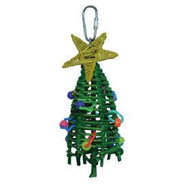 ~寵物鳥世界~ AMG0459 Amigo 阿迷購 美國舒寶 迷你聖誕樹
