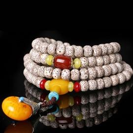 高密順百星月菩提108顆手鏈男女多圈手串掛鏈毛衣鏈