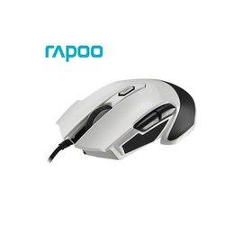 奇奇3C  Rapoo 雷柏V310~白 全彩RGB電競雷射滑鼠
