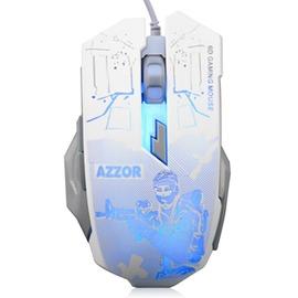 卡佐復仇者炫彩燈遊戲鼠標CFLOL電腦USB有線電競遊戲鼠標~型男部落~