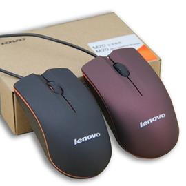 有線聯想鼠標USB辦公網吧遊戲臺式電腦筆記本遊戲小鼠標~型男部落~