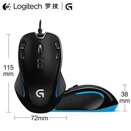 羅技G300SCFLOL魔獸世界 電競技有線USB遊戲鼠標~型男部落~