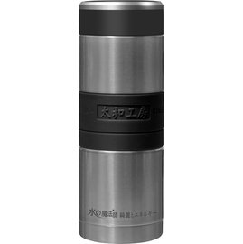 太和工房負離子能量保溫瓶CAH【600ml】不銹鋼原色