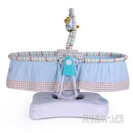 嬰兒床電動搖籃床搖搖床寶寶床電動搖椅~型男部落~