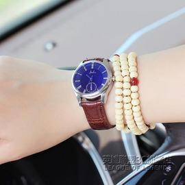 潮流手錶錶簡約情侶錶錶藍光學生時裝錶女錶石英錶~型男部落~