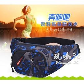 男女士休閒跑步手機包戶外 腰包多 腰包斜挎胸包單肩包包~型男部落~