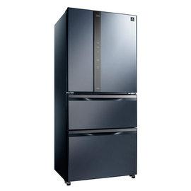 ▼展示機 來電 狀況~S o 聲寶~ 玻璃鏡面四門變頻冰箱560L^(SR~NW56DD^
