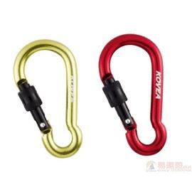Kovea 韓國 帶鎖鉤環~葫蘆型8mm紅 KN8AC0349 露營 桌椅 廚房 帳篷 B