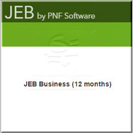 JEB Business ^(12 months^) ~ 逆向工程及反組譯的好工具^!