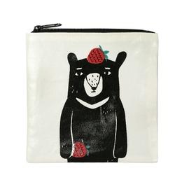 黑熊收纳袋/方形莓果/2730302