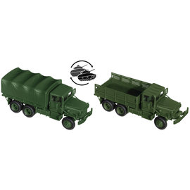 Minitanks 05123 HO規 M 35 A2 軍用卡車^(一台^).套件