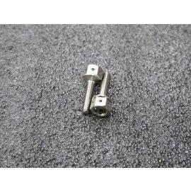 晶站 m4 15mm T~MAX 剎車油缸螺絲 白鐵內外六角螺絲
