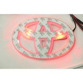 LED TOYOTA車標背光燈 白,紅 藍,白 紅光 車標 LOGO 發光 背光燈 尾標燈