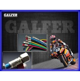 《晶站》GALFER 歐洲原裝進口 金屬煞車油管 75CM-野狼150 野狼傳奇125 雲豹150/200 FZR