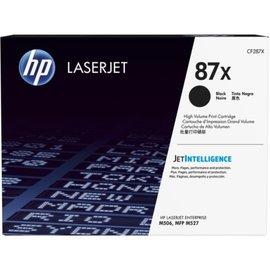 HP 87X 高列印量黑色 LaserJet 碳粉匣 CF287X ^(For HP LJ