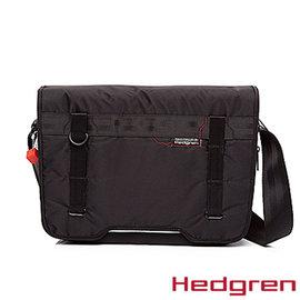 ~Hedgren~HNW ~New Way 摩登商務系列~郵差包 黑色