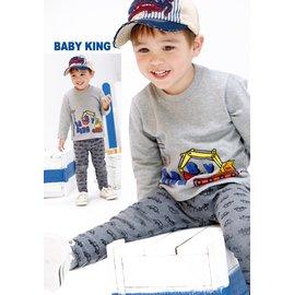 baby king  6243 車車彈性棉褲 80CM^~120CM 製