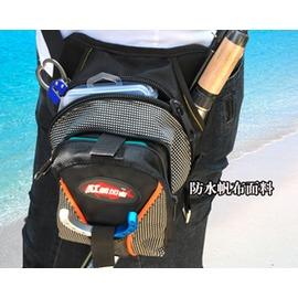 釣魚軍迷裝備用品多 戶外 腰包腿包挎包男漁具路亞包