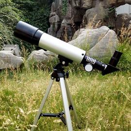 自由角落兒童學生入門天文望遠鏡 高倍高清夜視天地兩用