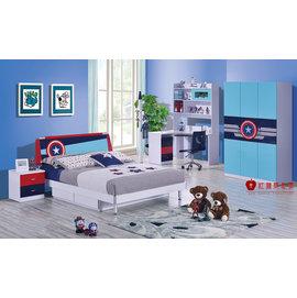 ^~紅蘋果傢俱^~ QC865 兒童 青年床組 單人床 兒童床 四尺床 五尺床^(含 ^)