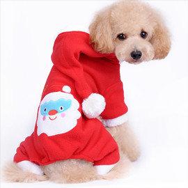 DP雜貨鋪 cosplay寵物衣 聖誕情侶裝 貓狗衣服 博美 吉娃娃 貴賓 比熊