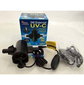 ~墨耘 水草造景~Leilih~鐳力 外接式UV殺菌燈 ^(3W^) UV殺菌 840