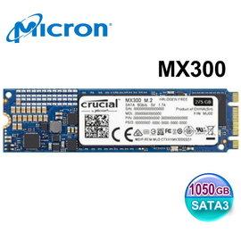 Crucial 美光 Micron SSD MX300 TLC 1050GB M.2 22
