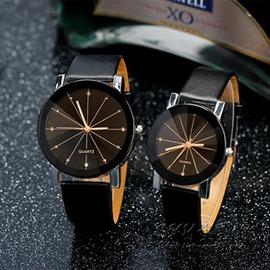 潮流 手錶簡約情侶錶男錶中學生錶休閒皮帶女錶石英錶igo~型男原創館~