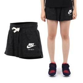 NIKE 女針織短褲(慢跑 路跑【04351173】≡排汗專家≡