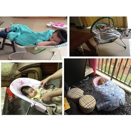 哄睡椅子嬰兒電動彈跳搖搖椅哄睡搖床搖籃寶寶抖動igo~型男原創館~