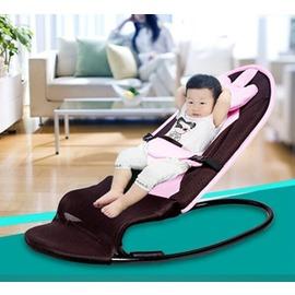 哄睡椅子寶寶嬰兒搖搖椅哄寶新生兒安撫躺椅輕便折疊平衡自動兒童搖籃igo~型男原創館~