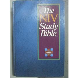~書寶 書T1╱原文書_HNU~The NIV Study Bible_Zondervan