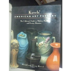 ~書寶 書T2╱藝術_XGS~Kovels American Art Pottery: T