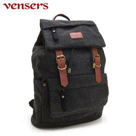 ~e~man~~Vensers~新潮 包系列^~後背包^(D039302黑色^)~~ 0利
