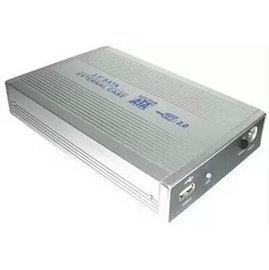 新竹市 USB 2.0 鋁合金外殼 行動硬碟盒/筆電外接盒 (IDE - 3.5寸/3.5吋)