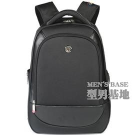 定制智慧地球後背包男商務電腦背包14寸女學生書包旅行包P3220~Dudubobo~