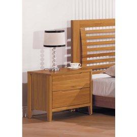 ~奇威居家 館 ~~D17002~3~米堤柚木色床頭櫃 雙人床 衣櫃 斗櫃 化妝台 傢俱