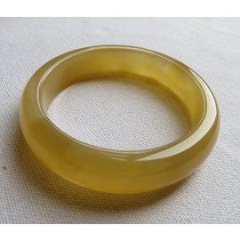 天然玉髓手環^#0246 56.5mm