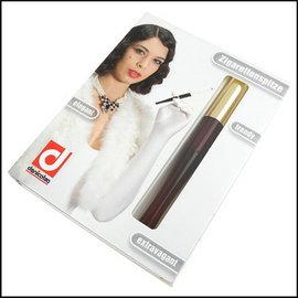 ◆斯摩客商店◆~denicotea~Long長煙嘴系列~彈簧煙嘴 金頭紅棕炳 ~德國