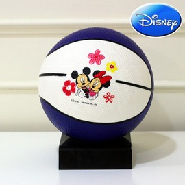 【Disney 正版授權】6吋兒童籃球(藍白) - 新北市閃電到貨