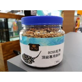 BOSS 魟魚 飼料 罐裝 900G