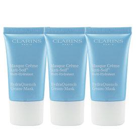 ~Clarins~水潤奇肌保濕水面膜 15mlX3