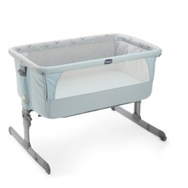 【會員滿5000元再享9折/請洽客服】『MA02-4』Chicco Next 2 Me多功能移動嬰兒床(湖水藍)