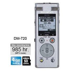 Olympus DM~720 錄音筆 ^(4GB可擴充^) 德明 貨 18個月
